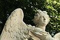 Parc de Versailles, demi-lune du bassin de Neptune, La Renommée du Roi, Domenico Guidi 06.jpg