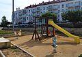 Parc de jocs infantils per la plaça del Nou d'Octubre, Benissa.JPG