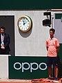 Paris-FR-75-open de tennis-2019-Roland Garros-court Chatrier-juge de touche-1.jpg