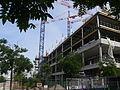 Paris - Avenue de France and rue de Tolbiac - new building (2012) above railway tracks 07.JPG