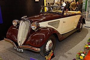 Chenard-Walcker - 1936 Chenard et Walcker T24C Super Aigle (front-wheel drive)