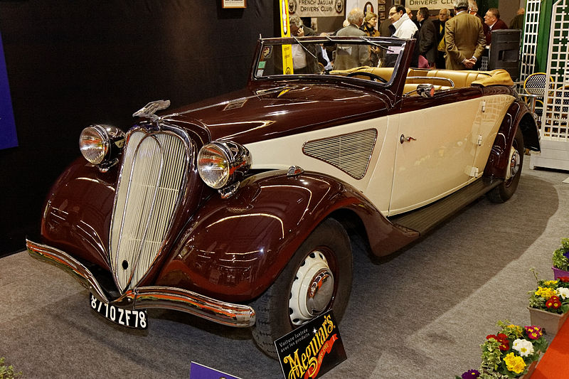 File:Paris - Retromobile 2012 - Chenard & Walcker type T 24 C - 1936 - 001.jpg