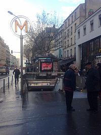 Paris MarxDormoyM12 entry.jpg