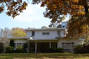 National Register of Historic Places listings in Lincoln County, Arkansas - Image: Parker House