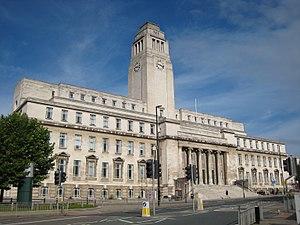 Parkinson Building - Image: Parkinson Leeds Uni 3 27 August 2017