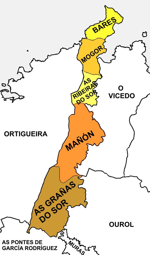 Parroquias de Manhon