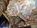 Particolare della volta della Sala dell'autunno affrescata da Domenico PIola.JPG