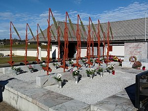 Srednja Dobrava - Monument to victims of Nazism