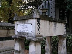 Molière's tomb