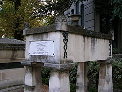 Grab, Père Lachaise (Quelle: Wikimedia)