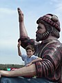 Paul Bunyan Scenic Byway - Child and Paul Bunyan - NARA - 7720971.jpg