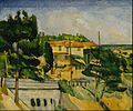 Paul Cézanne - The Road Bridge at L'Estaque - Google Art Project.jpg