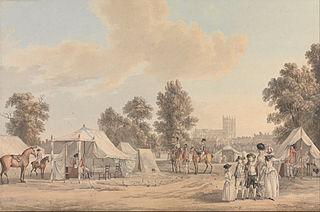 An Encampment in St. James Park