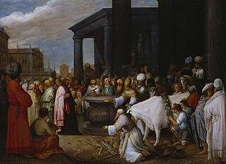 Paweł i Barnaba w Listrze
