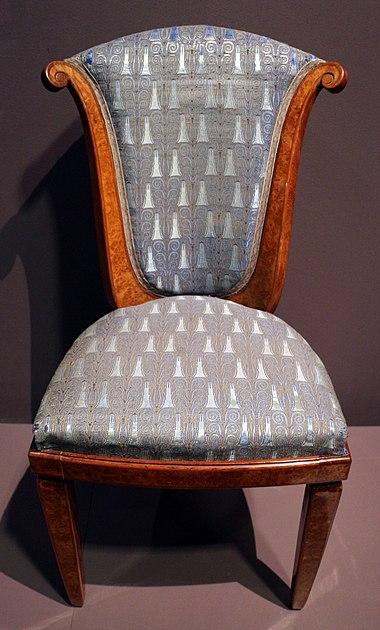 Cadeira de Paul Follot (1912–1914) 068686de69