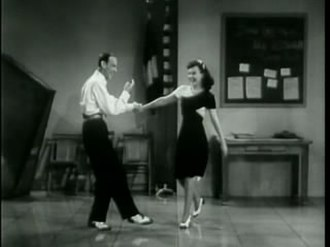 """Second Chorus - Astaire and Goddard in """"I Ain't Hep To That Step But I'll Dig It"""""""