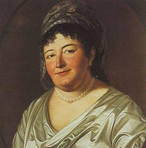 Princess Pauline of Anhalt-Bernburg - portrait by Johann Christoph Rincklake, 1801