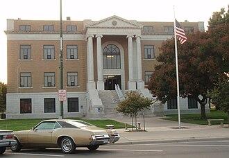 Pawnee County, Kansas - Image: Pawnee county kansas courthouse 2009
