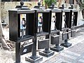 Pay phone array, Key West Florida, 2009.jpg