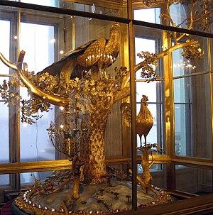 Peacock (Fabergé egg) - The Peacock Clock