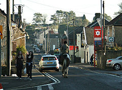 Peasedown St john main road.jpg