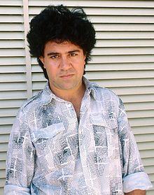 Pedro Almodóvar alla Mostra del cinema di Venezia del 1988