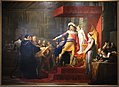Pelagio pelagi, gustavo adolfo re di svezia riceve giuramento di sua figlia cristina, ante 1837.jpg