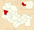 Pemberton ward within Wigan Metropolitan Borough Council.png