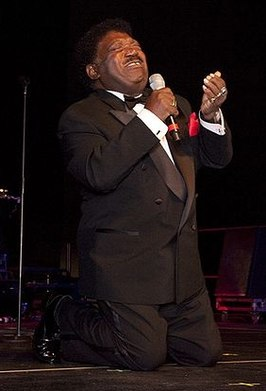 Percy Sledge in de Alabama Music Hall of Fame