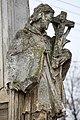 Pereszteg, Védőszentek szobra 2021 11 Nepomuki Szent János.jpg