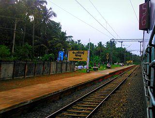 Perinad Village in Kerala, India
