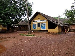 Education in Kerala - A school in Kolachery, Mayyil, Kannur District.