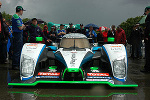 2009 24 Hours of Le Mans - Despite using a 2008-spec Peugeot 908 HDi FAP, Pescarolo Sport qualified fourth.