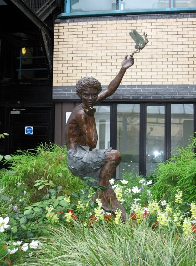 Peter Pan statue by Diarmuid Byron O%27Connor
