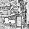 Petit-Bourbon on 1652 map of Paris by Gomboust.jpg