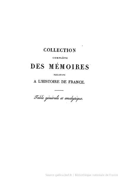 File:Petitot - Collection complète des mémoires relatifs à l'histoire de France, 1re série, tome 52.djvu