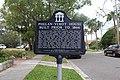 Phelan-Verot House historical marker.jpg