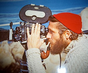 Philippe Cousteau - Philippe Cousteau filming during an expedition