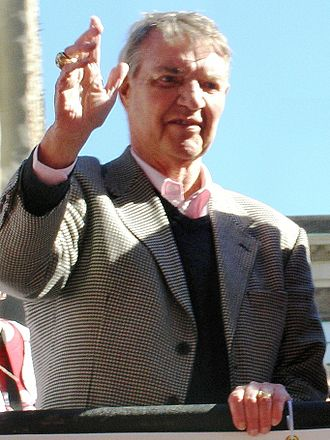 Harry Kalas - Harry Kalas at the 2008 Phillies World Championship Parade