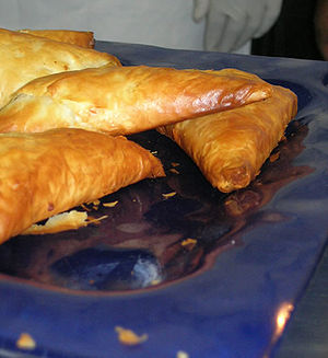 Pastry made with phyllo