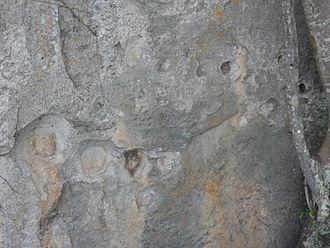 Tibacuy - Image: Piedra del diablo pictografia cumaca