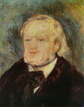 Porträt Wagners von Pierre-Auguste Renoir, 1882 (Quelle: Wikimedia)