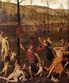 Pietro Perugino - Combat of Love and Chastity (detail) - WGA17347.jpg