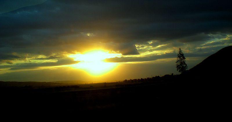 זריחה בעמק הירדן