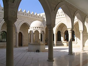 Nabi Shu'ayb - The courtyard of the complex