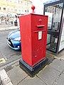 Pillar box LL30 13, Gloddaeth St, Llandudno 2.jpg