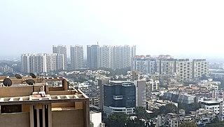 Chinchwad Neighbourhood in Pune, Maharashtra, India