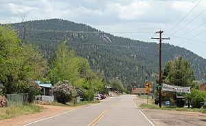 Pine, Colorado - Pine in 2013.