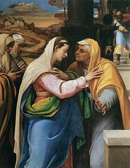 Piombo, Sebastiano del - The Visitation - 1518-19