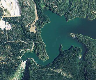 Pit 3 Dam - Satellite view